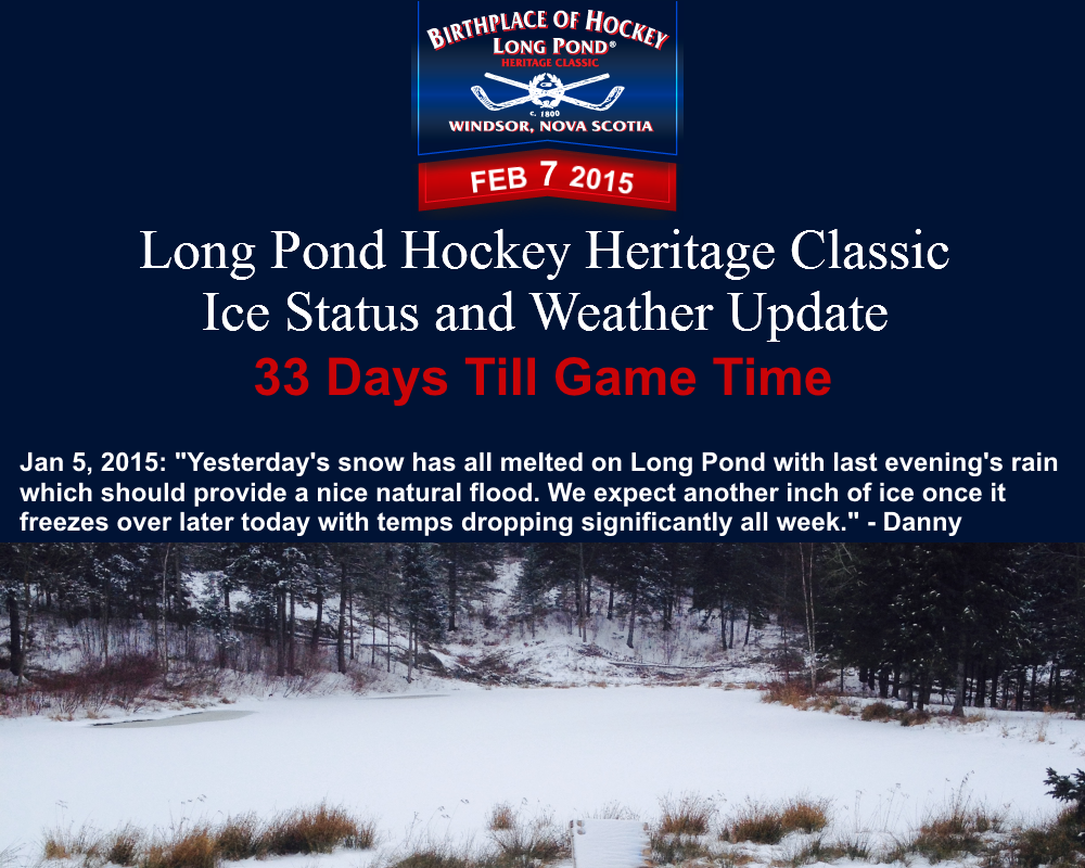 Jan5 Ice Status and Weather Update LPHC 2015
