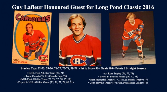 Guy Lafleur Signs On New6