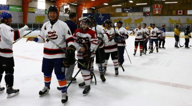 Long Pond Heritage Hockey Classic: Saturday's Games