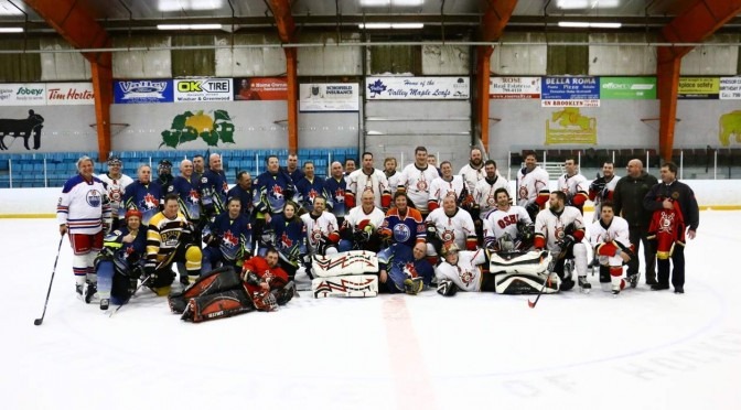 New Boundaries Charity Game: RCMP Vs Fire Departments