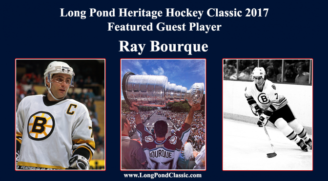 Ray Bourque Confirmed Long Pond Classic 2017