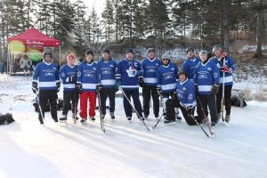 Long Pond Classic Team: Tim Hortons with Wendel Clark